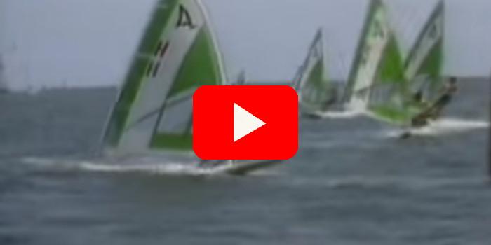Windsurf goud voor Stephan van den Berg  (1984) - Olympische Spelen Nieuws