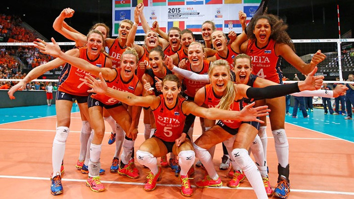 OLYMPISCHE SPELEN - Volleybaldames plaatsen zich voor Olympische Spelen 2016