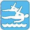 Synchroonzwemmen Duet Dames