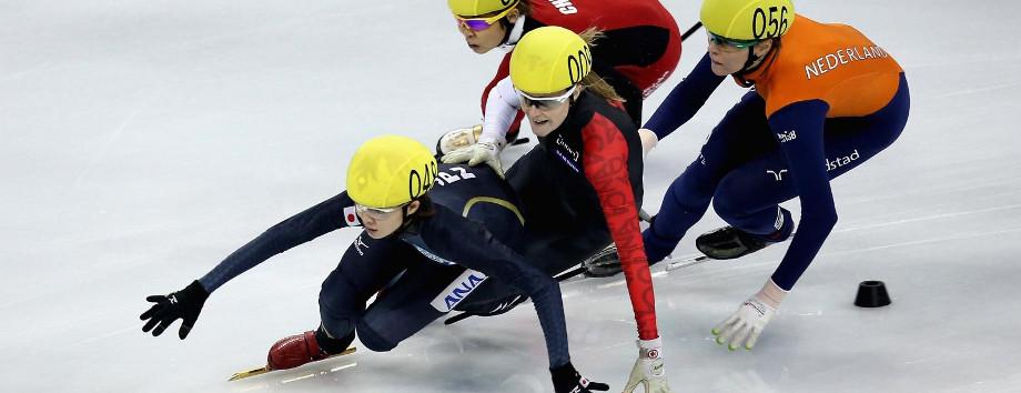 programma shorttrack op de Olympische Spelen